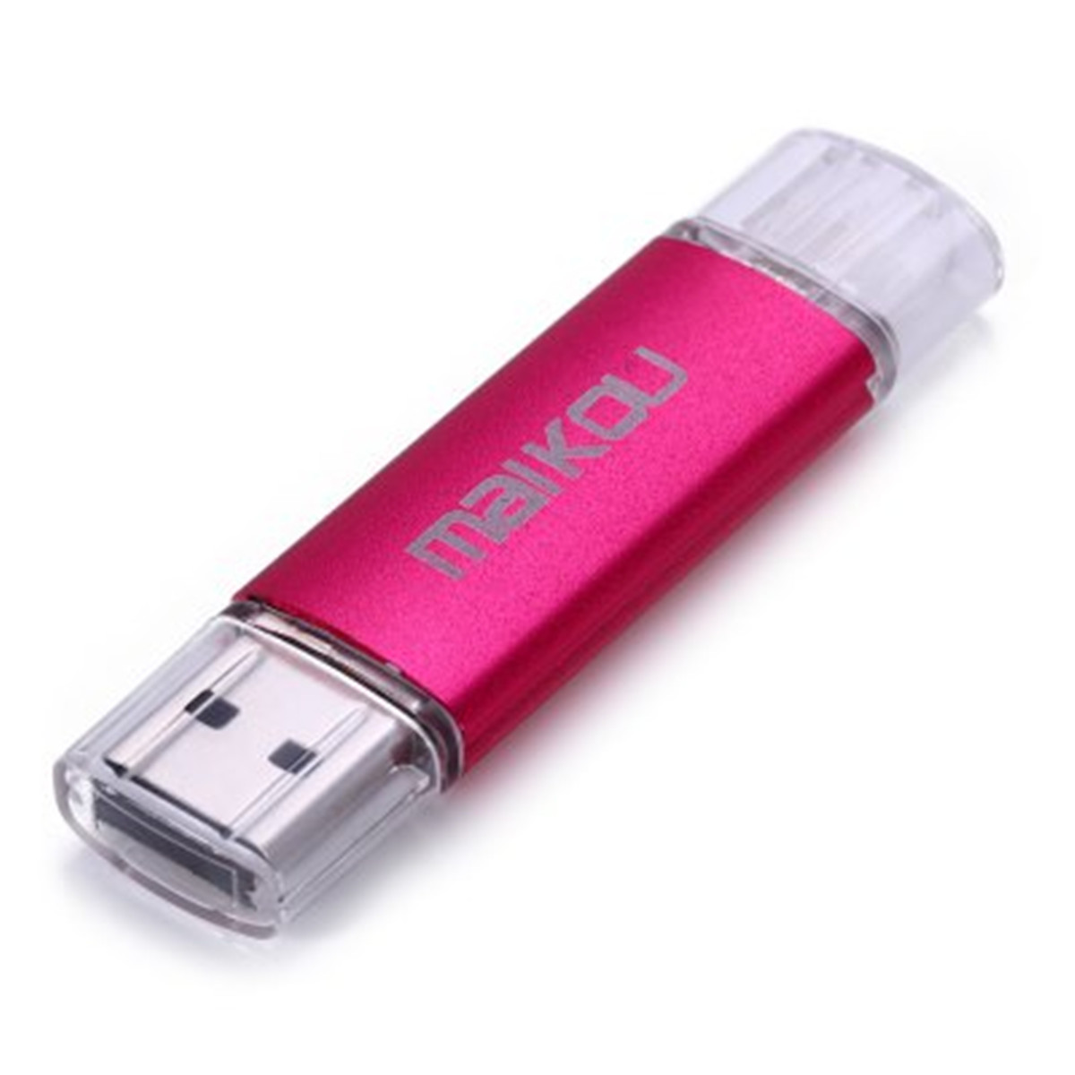 Flash Drive OTG USB U Disk Memory Stick for IOS Android 16GB Pink