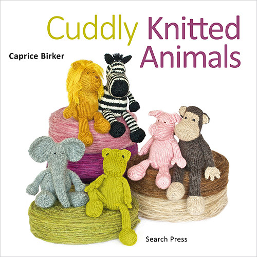 Search Press Books Cuddly Knitted Animals