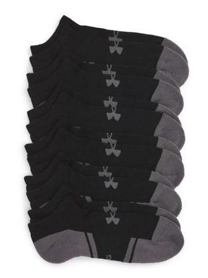 Under Armour 1282432 Men/'s UA Resistor III Lo Cut Socks Pack of 6 Size M-XL