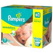 Pampers Swaddlers Newborn Diapers Size 1 168 count