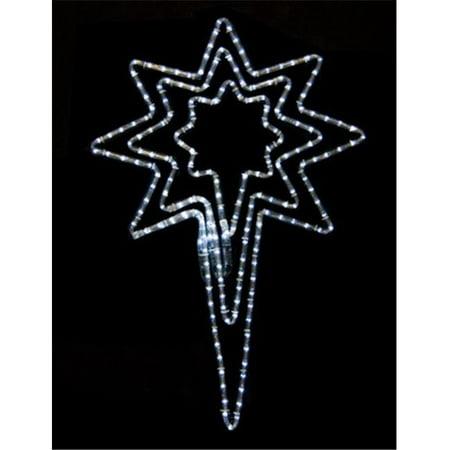 Winterland LED-BSTR-PW-32 Bethlehem Star, 32 in. - Winterland Theme