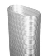 """DuraVent 8VFT-57OFC 8"""" Inner Diameter - Ventinox Flexible Liner Chimney Relining - Single Wall - 57"""" Oval Flex Connector"""