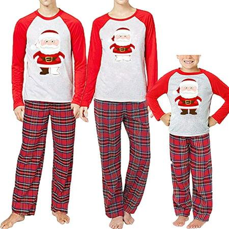 Xmas Pjs For Family (Family Christmas Pajamas Set Xmas Pjs Matching Pyjamas Adult Kids Xmas)