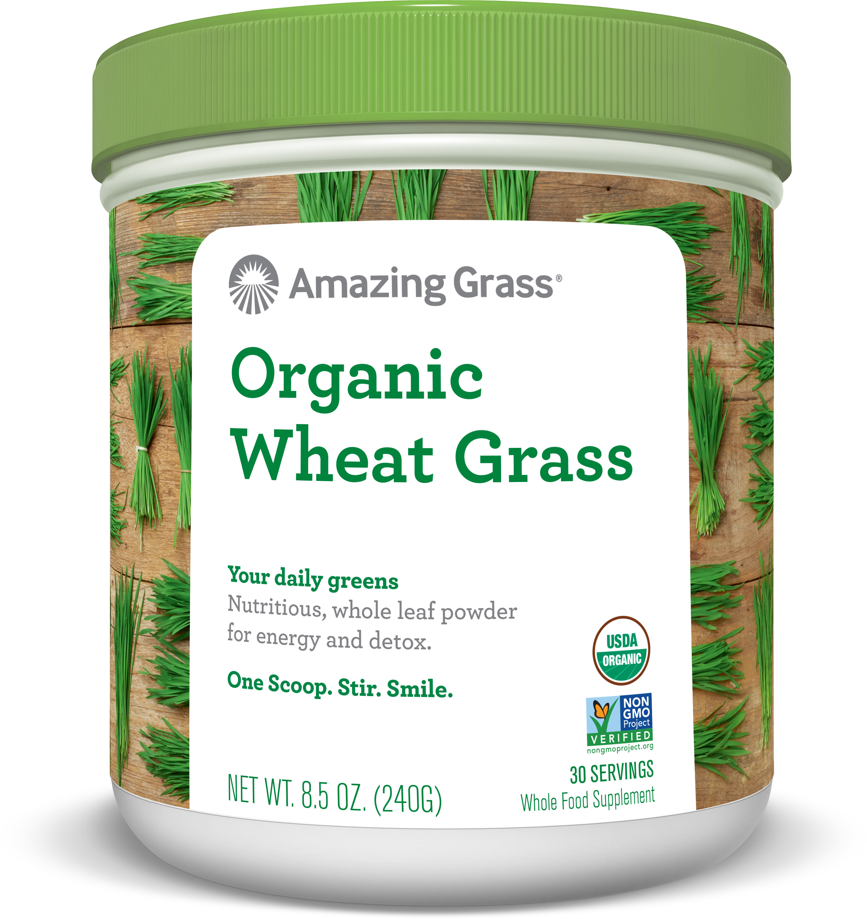 Amazing Grass Organic Wheatgrass Powder, 8.5 Oz