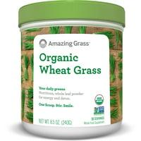 Amazing grass organic wheatgrass powder, 8.5 oz