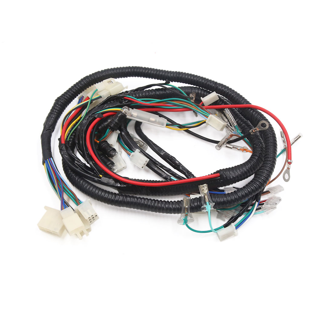 X Scooter Wiring Harness on scooter voltage regulator, scooter speedometer, scooter lights, scooter fuel pump, scooter gas tank, scooter water pump, scooter wheels, scooter air filter,