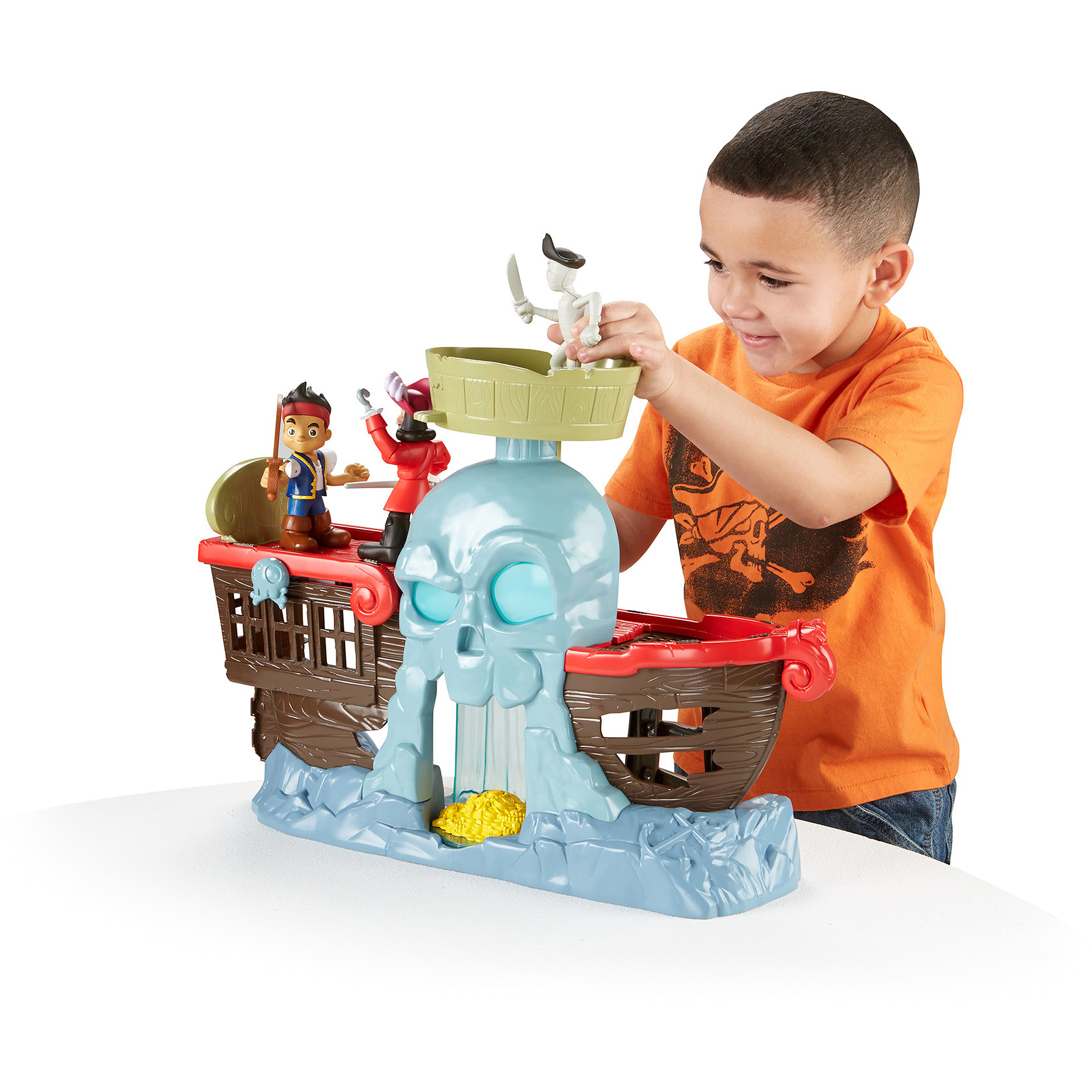 Fisher-Price Disney Jake And The Neverland Pirates Jake's Battle At Shipwreck Falls