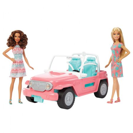 Mattel Barbie Dolls & Fab Life Off-Road Vehicle ()