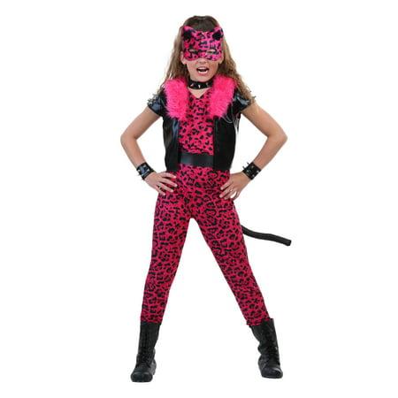 tween pink party leopard costume - Al Sarrantonio Halloween