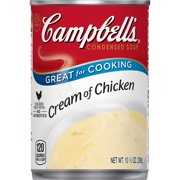 (8 Pack) Campbell's Condensed Cream of Chicken Soup, 10.5 oz. Can