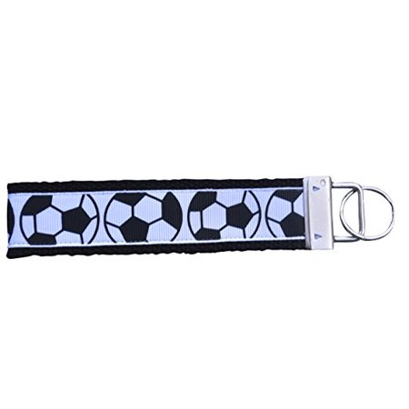 Soccer Keychain, Soccer Gifts, Soccer Wristlet FOB, Proud Soccer Player, Soccer Team or Soccer Coach Gifts - Cheap Coach Keychains