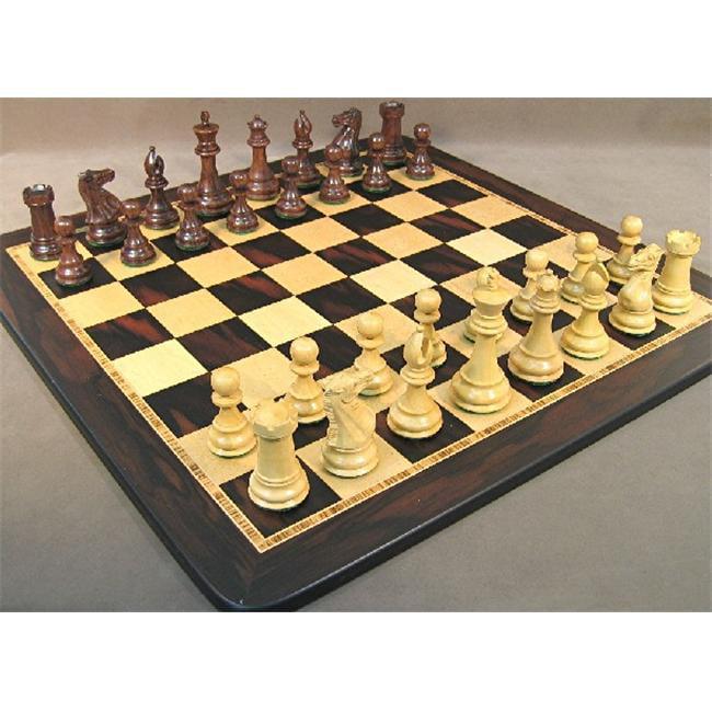 WW Chess 40SE-EBM Sheesham Exclusive Chess Set by WW Chess