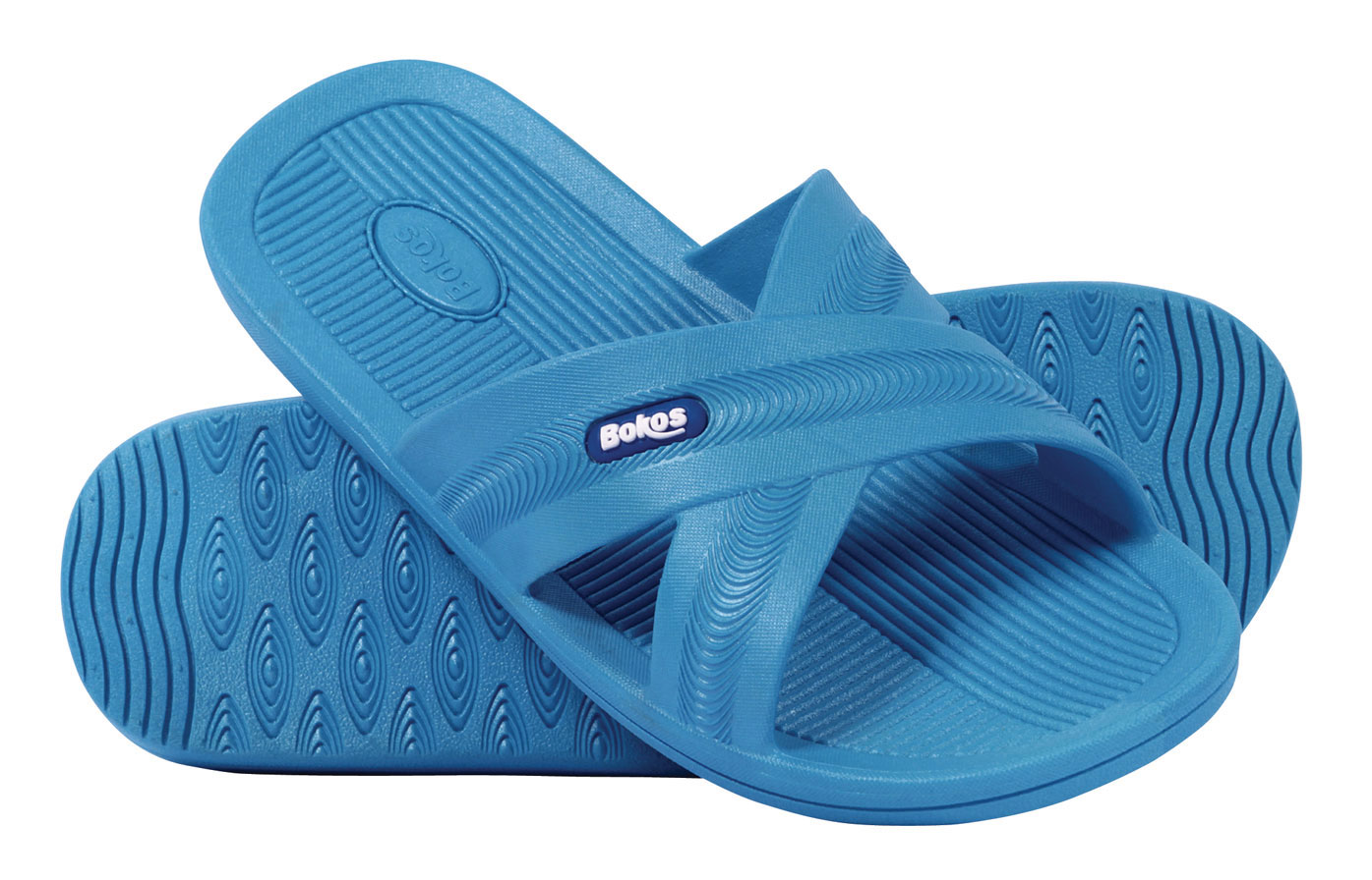 Bokos Women's Sandals Flip Flops Stylish & Comfortable Carolina Blue by Bokos
