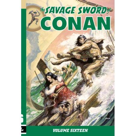 The Savage Sword of Conan 16