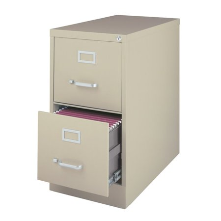 3000 Series 26 5 Inch Deep 2 Drawer Letter Size Vertical File Cabinet Putty