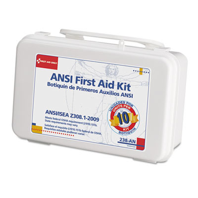 ANSI-Compliant First Aid Kit FAO238AN