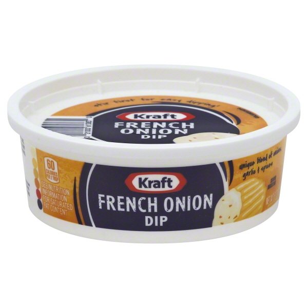 Kraft Dip French Onion, 8.0 OZ