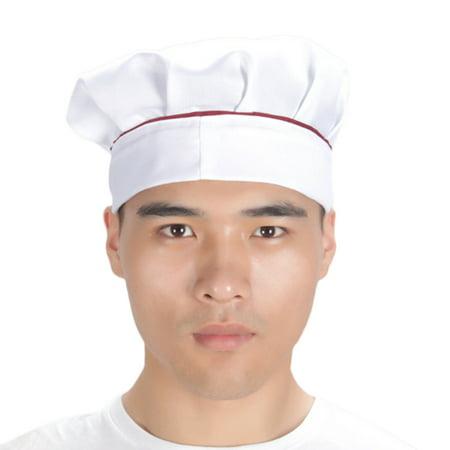 Adult Elastic Chef Hat Baker BBQ Workshop Canteen Kitchen Restaurant Hotel Bakery Waiter Work Cap - Chef Hats For Sale