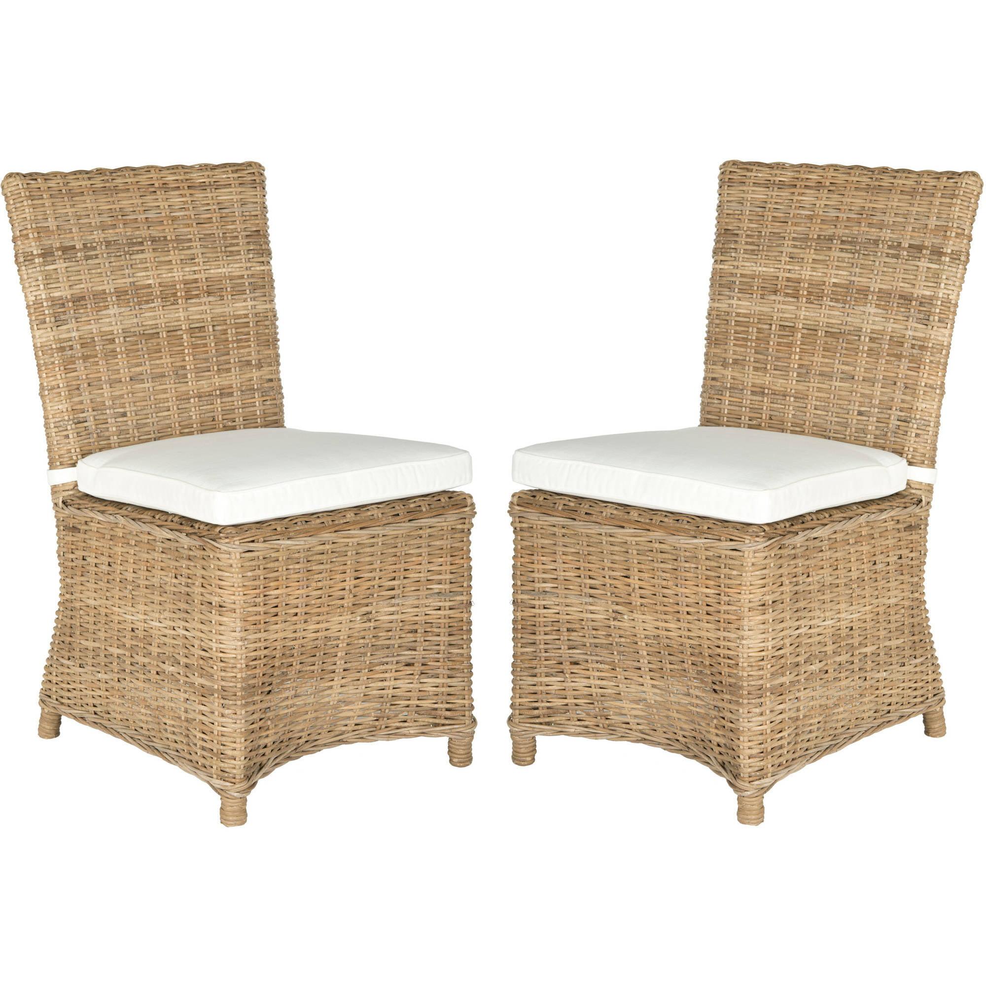 Safavieh Sebesi Side Chair, Natural, Set of 2