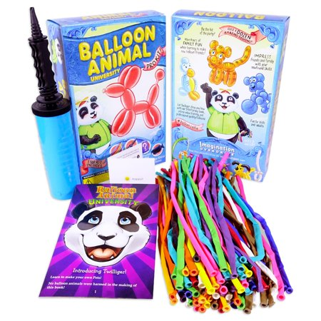 Balloon Animal University PRO 100 Kit. You Can Learn to Make Balloon Animals - Balloon Animals Instructions