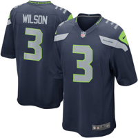 Russell Wilson  Seattle Seahawks Nike Game Jersey - College Navy