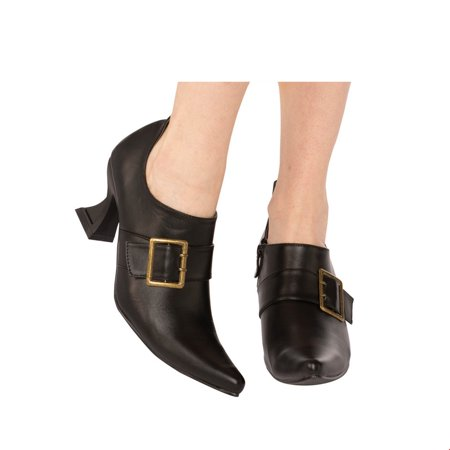 Halloween Witch Costume Accessories (Adult Samantha Witch Heel Halloween Costume)