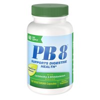 2 Pack Nutrition Now PB 8 Pro-Biotic Vegetarian Supplement, 120 Count each