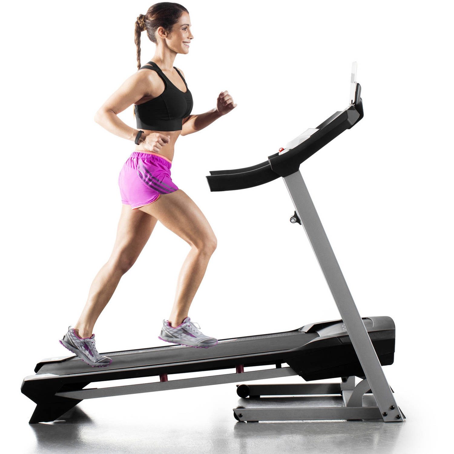 ProForm 305 CST Folding Treadmill with Power Incline and Cushioning
