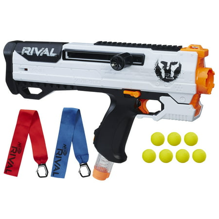 Nerf Rival Phantom Corps Helios XVIII-700 Blaster with 7 Rival (Best Nerf Gift For A 7 Year Old Boys)