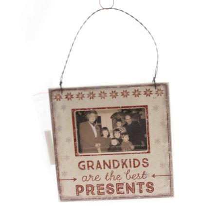 Christmas GRANDKIDS MINI FRAME Wood Best Presents (Best Christmas Presents For College Girls)