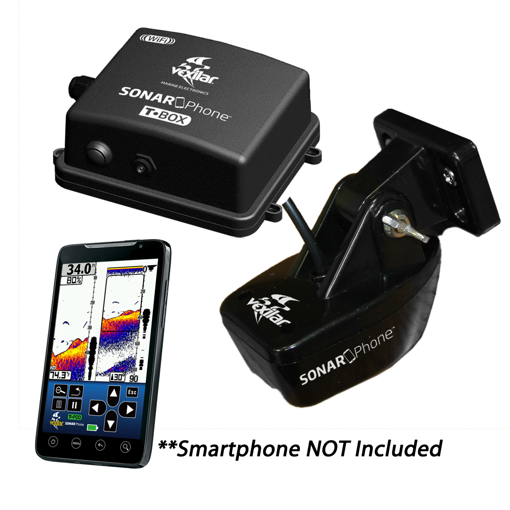 Vexilar T-Box SmartPhone Fish Finder, SP200