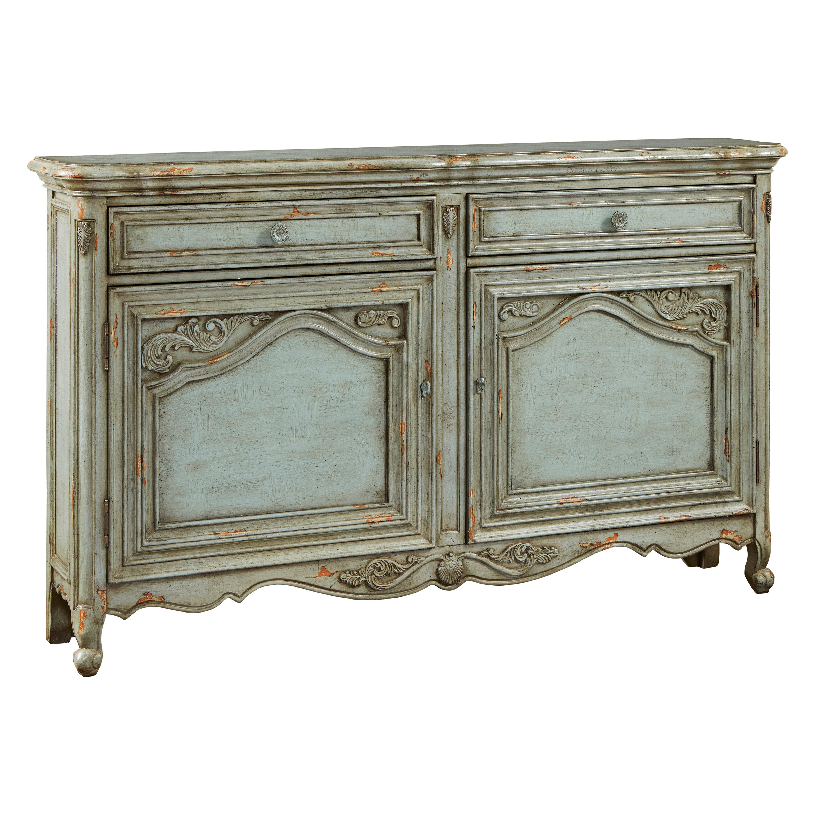 Pulaski Aged Russelle Heirloom Credenza by R2H