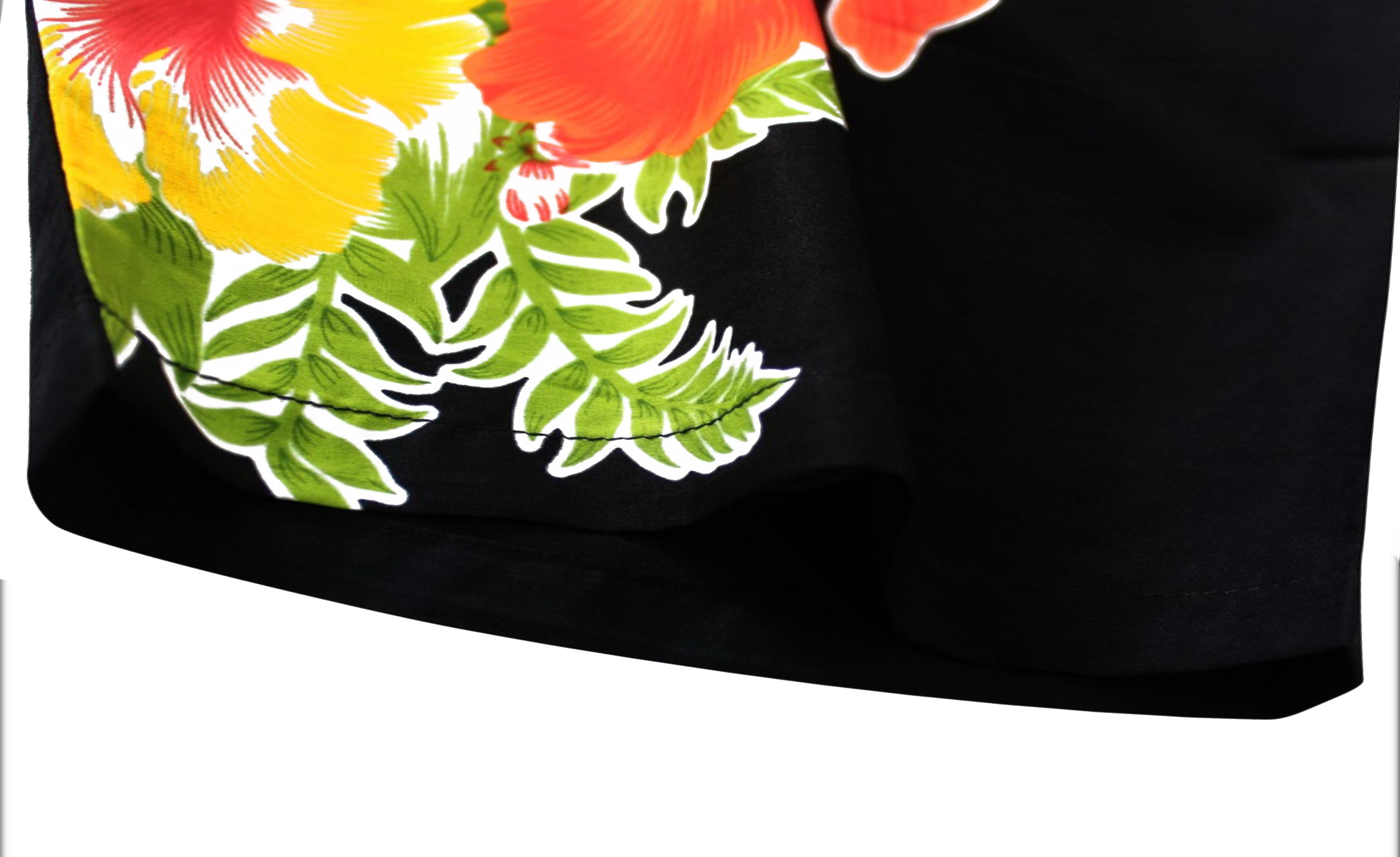 c0479116c5e19 Hawaiian Shirt Mens Beach Aloha Camp Party Casual Holiday Short Sleeve  Hibiscus Floral Print J