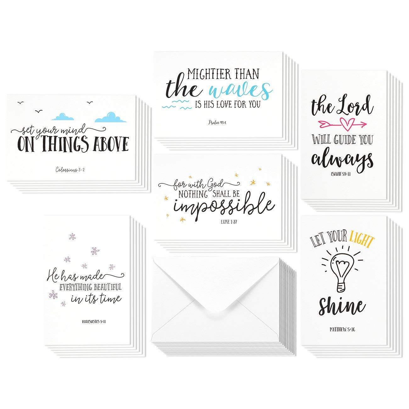 Thank You Note Sheets /& Envelopes Pack of 20 Unicorn Fun