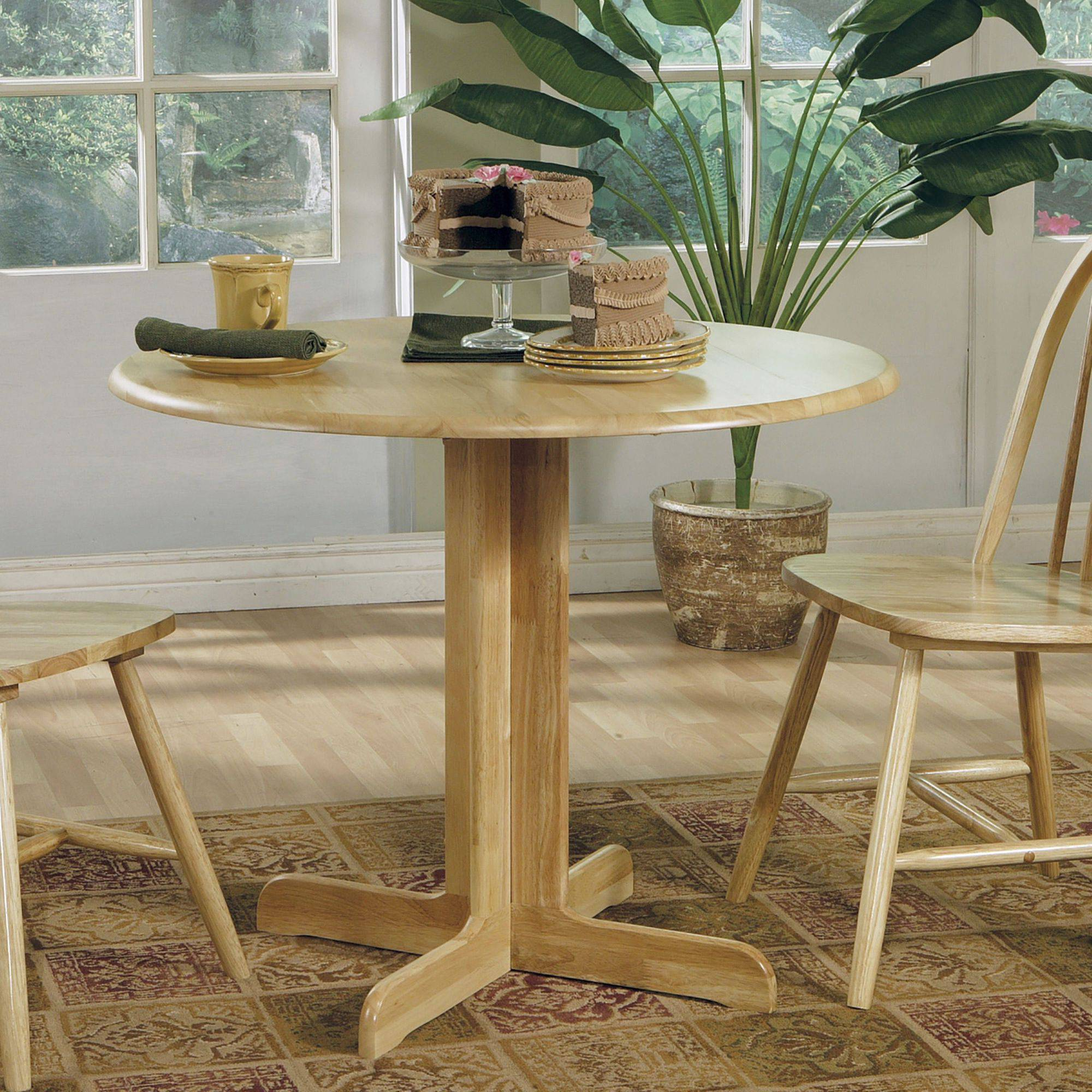 Coaster Company Natural Brown Breakfast Nook, Dining Table