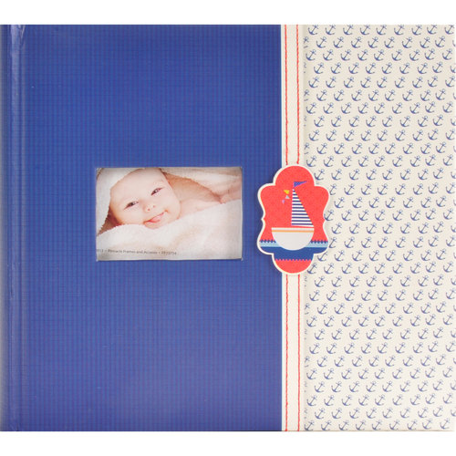 Pinnacle Frames and Accents 2Up Baby Sailboat Photo Album