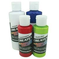 Createx Airbrush Tropical 6-Color Set