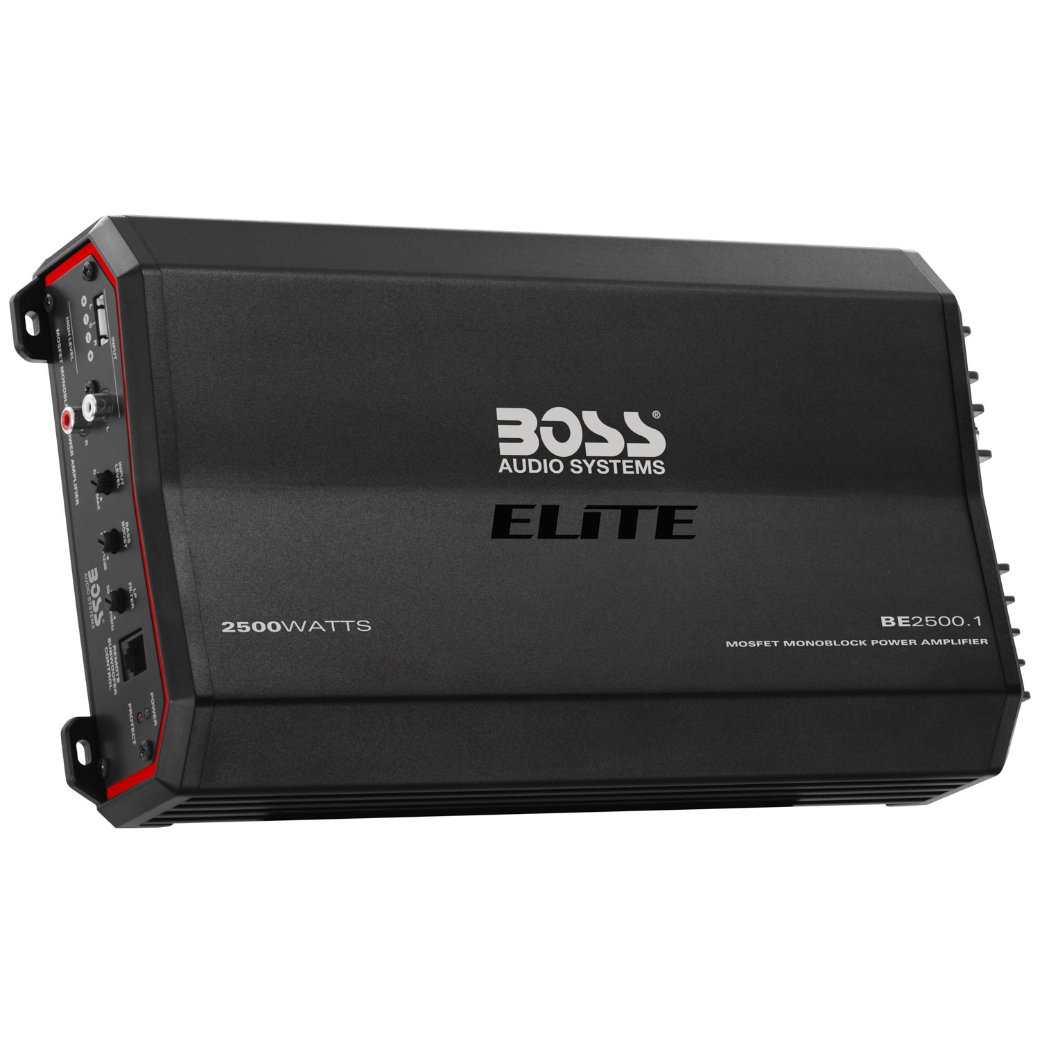 Boss Audio Systems 2500-Watt Class A/B Amplifier with Remote Subwoofer Control