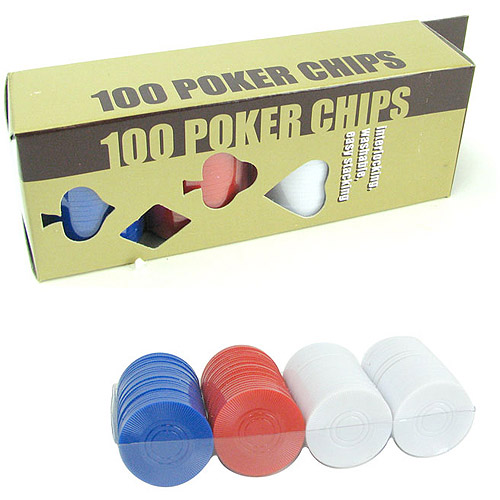Trademark Poker 100 Radial Chips Set