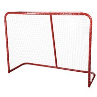 Franklin Sports Street Hockey Goal - Steel Street Hockey Net - All Weather Durable Outdoor Goal - 54""