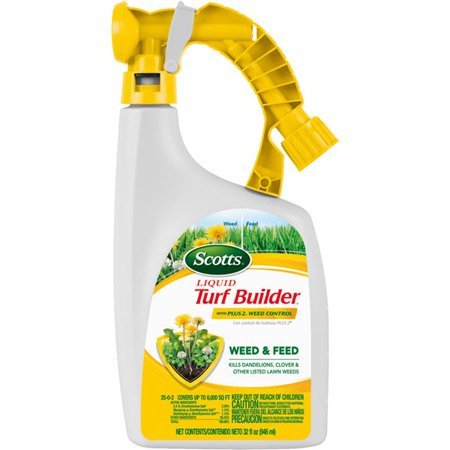 Scotts Liquid Turf Builder with Plus 2 Weed Control - Typhoon (Best Way To Weed And Feed Lawn)