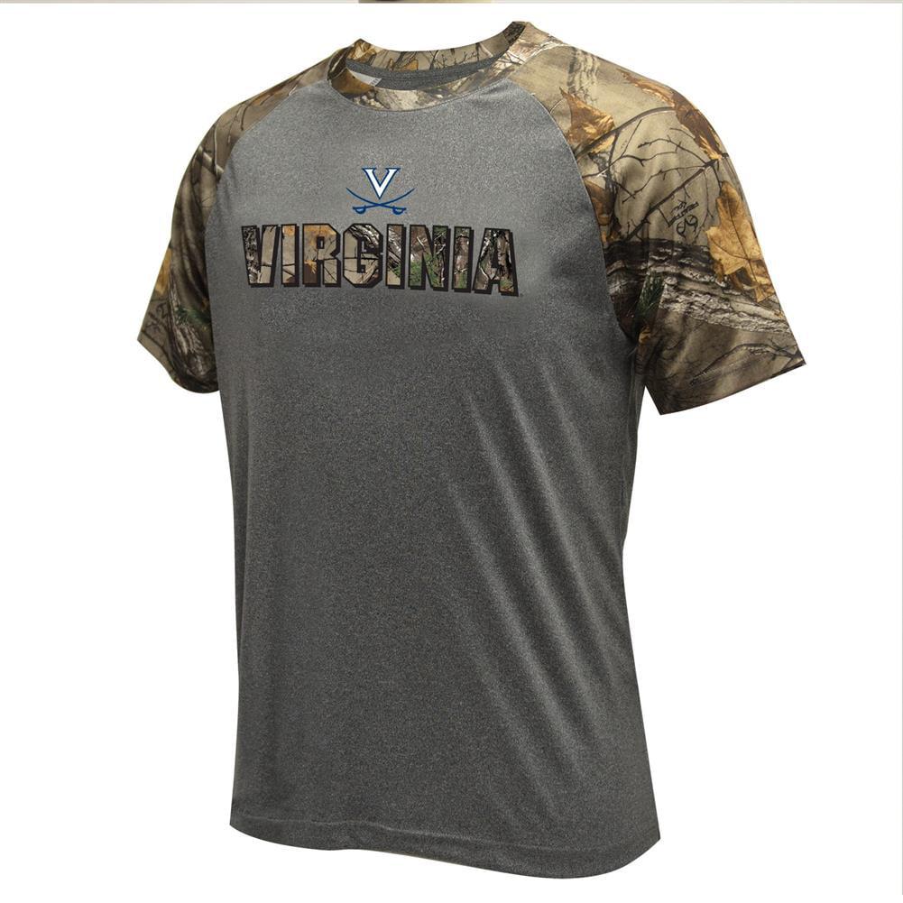 Performance University of Virginia Cavaliers Raglan Realtree T-Shirt