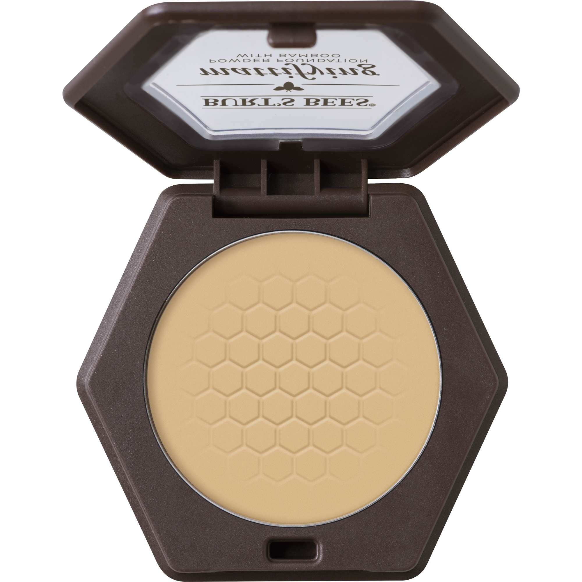 Burt's Bees 100% Natural Mattifying Powder Foundation, Vanilla, 0.3 oz
