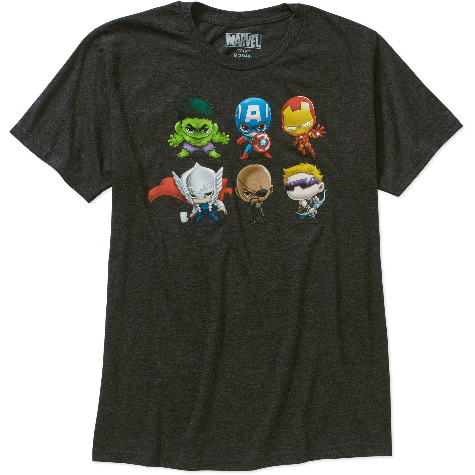 Avengers stylized and assembled Men's graphic tee