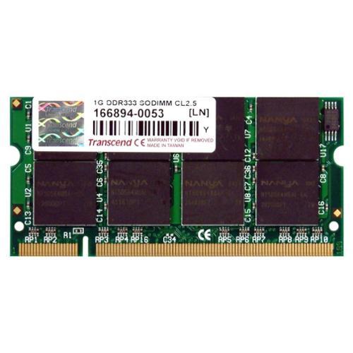 Transcend Memory 1GB DDR 333MHz CL2.5 non-ECC