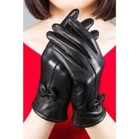 Women Warm Velvet Thickening Outdoor Winter Gloves](Green And Yellow Gloves)