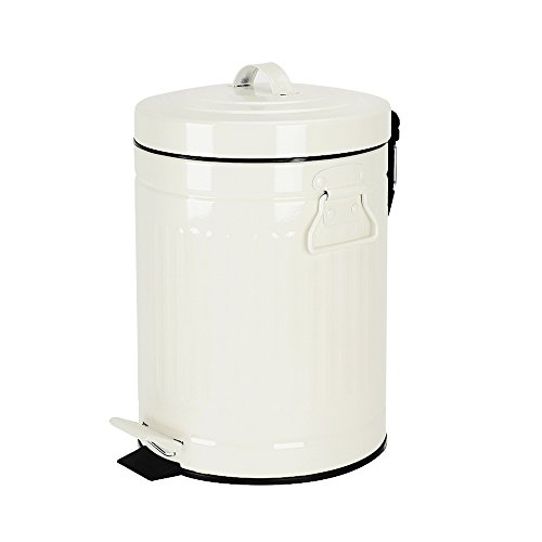 Bathroom Trash Can With Lid Small, Bathroom Garbage Can With Lid
