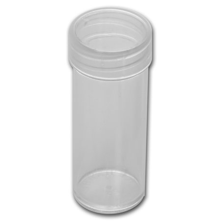 Shell Round Coin - 24.3 mm Quarter Size Round Coin Tube