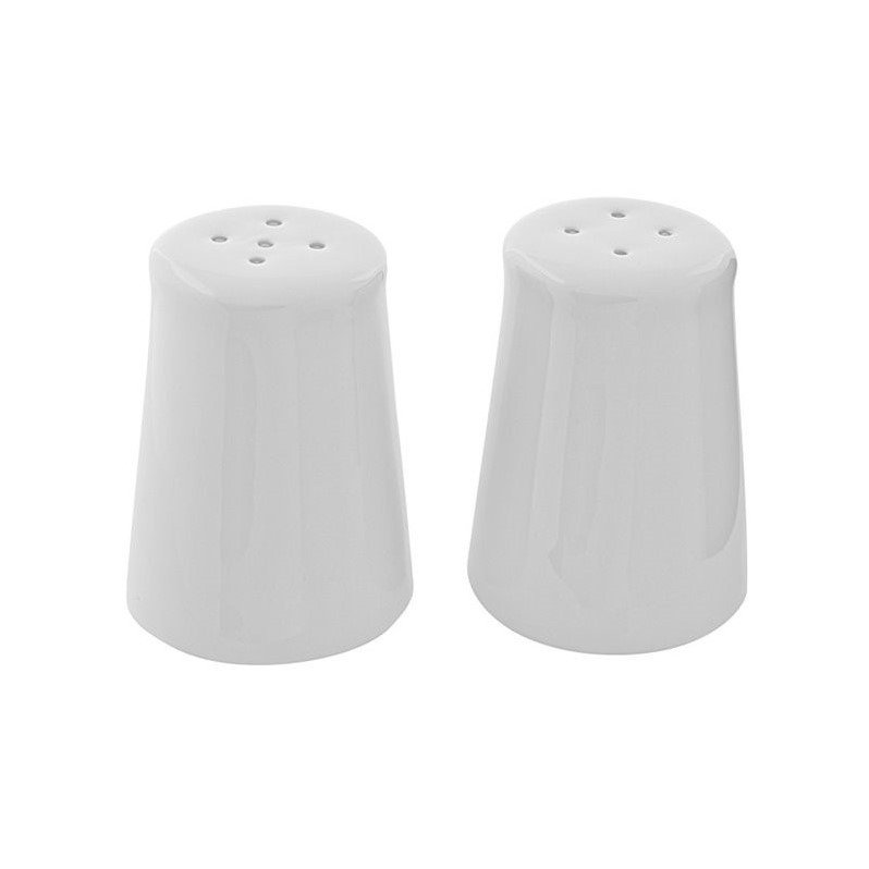 Click here to buy 10 Strawberry Street Classic White Salt and Pepper Shakers in White by 10 Strawberry Street.