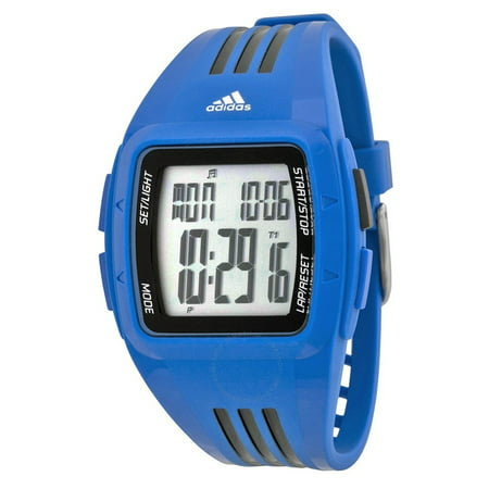 adidas - Duramo Black Dial Blue Resin Mens Watch ADP6096 - Walmart.com dfae782e8a
